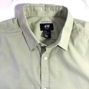 H&M Easy Iron Dress Shirt
